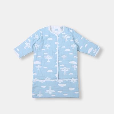 2017 新款儿童睡袋 八层飞机包脚睡袋(43cm×70cm)