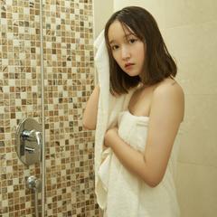 珊瑚绒套巾(毛巾35*75 浴巾70*140) 米黄