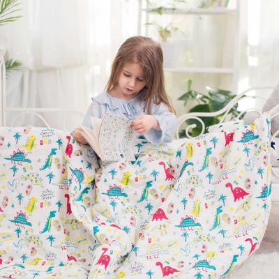 纱布系列儿童夏被 120*150 纱布小恐龙