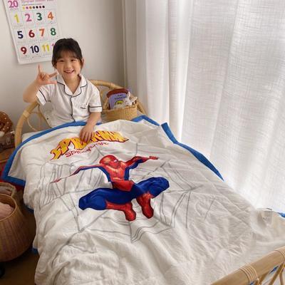 2020新款-卡通夏被 单夏被120x150cm 蜘蛛侠