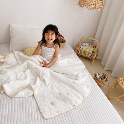 2020新款-棉花糖刺绣童被 120*150含棉芯 黄樱桃