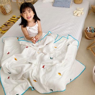 2020新款-棉花糖刺绣童被 120*150含棉芯 恐龙