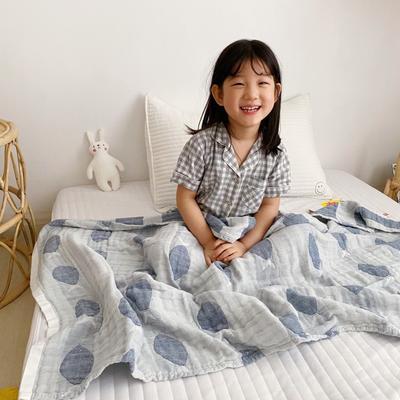 2020新款-童趣浴巾(70*140cm) 鱼多多-蓝