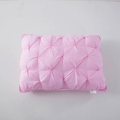 2018 新款扭花枕 扭花枕(48*74cm)粉色
