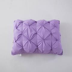 2017 新款扭花枕 扭花枕(48*74cm)紫色