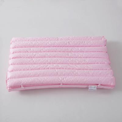 2018 新款日式PE软管二合一子母枕 二合一子母枕(48*74cm)粉色