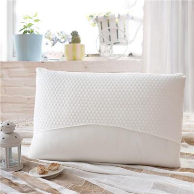 2018新款乳胶枕 半圆热熔枕