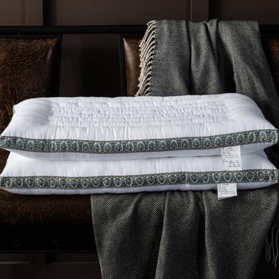 全棉贡缎超细纤维枕 48*74cm/只