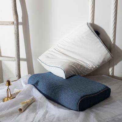 邓禄普乳胶枕 40*60cm/只兰色