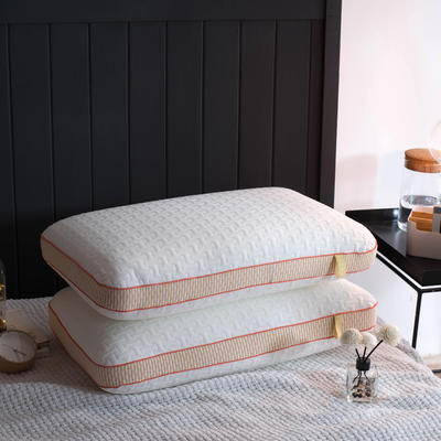 2018新品针织布定型热熔枕芯枕头 针织布定型热熔枕(一对)