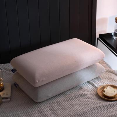 2018新品无印良品风面包记忆枕枕芯枕头 灰色(一对装)