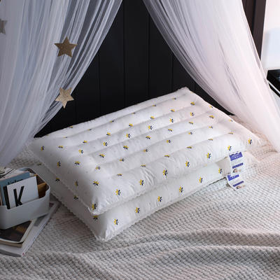 2018新品小蜜蜂低枕系列枕芯枕头 小蜜蜂低枕系列枕芯