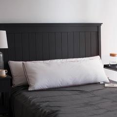 菩提猫(爱她美枕芯)  2018新品立体红边双人羽丝枕头枕芯 双人枕120x48cm