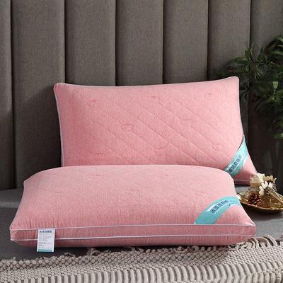 2019新款彩棉磨毛水洗热熔枕头枕芯(48*74cm/只) 水洗热熔枕1-1