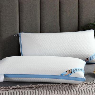 2019新款新型热熔枕头枕芯(48*74cm/只) 条纹热熔枕1-1