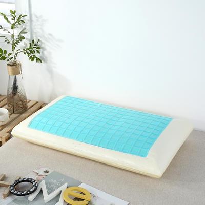 2020新款记忆棉枕头枕芯 零压力记忆棉枕芯-天蓝