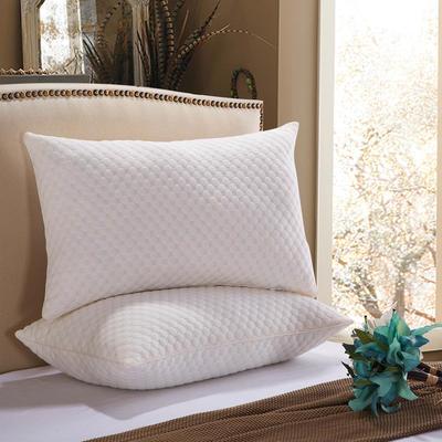 针织水立方羽丝绒枕 水立方羽丝绒枕
