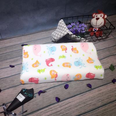 儿童卡通乳胶枕 儿童乳胶枕  花色下单备注