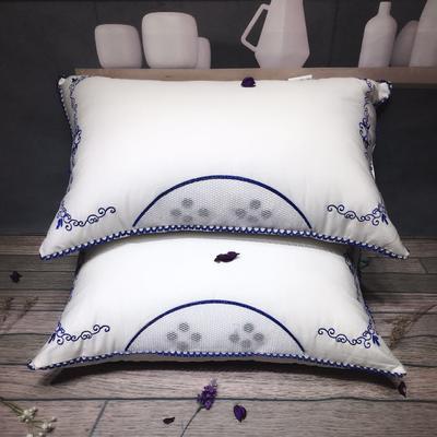 青花磁疗水洗枕 新品青花磁疗水洗枕