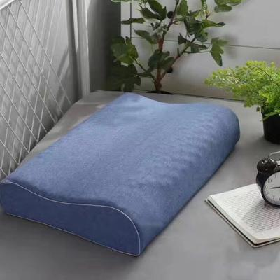 邓禄普乳胶枕  蓝色 邓禄普乳胶枕  蓝色