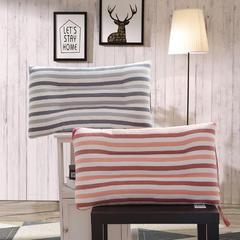 木果枕芯   全棉彩棉水洗枕 彩棉水洗枕  蓝色 粉色 颜色下单备注