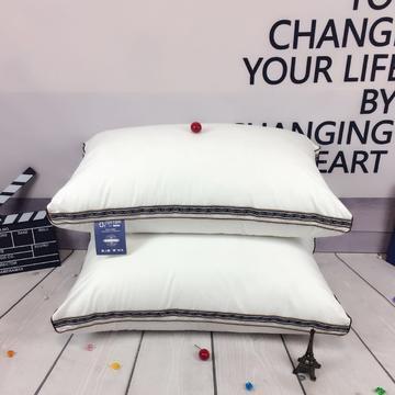 天丝枕芯—立体金边款羽丝绒枕