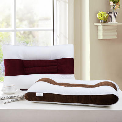 全棉立体灯芯绒保健枕 灯芯绒保健枕