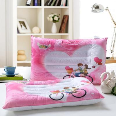 炫彩情侣护颈枕 情侣护颈枕  粉色