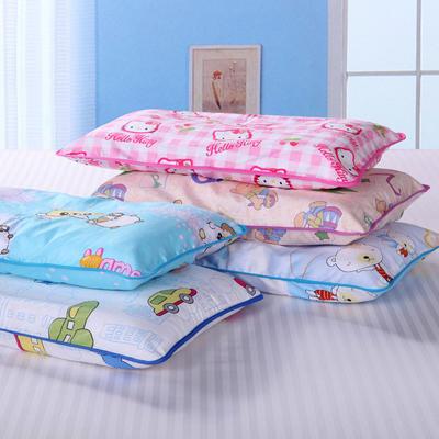 全棉儿童决明子护颈枕 儿童决明子枕加枕套