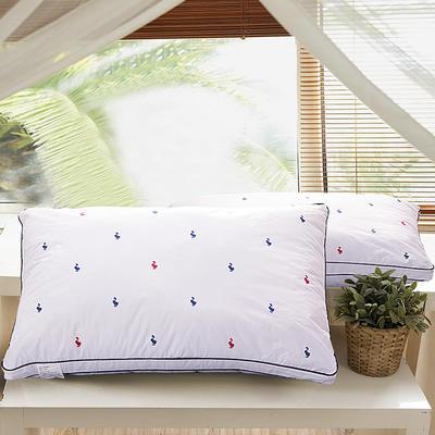 五星级酒店刺绣羽丝绒枕 立体卡通鸭羽丝绒枕