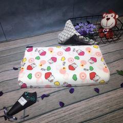 木果枕芯  泰国儿童乳胶枕 爱心KT