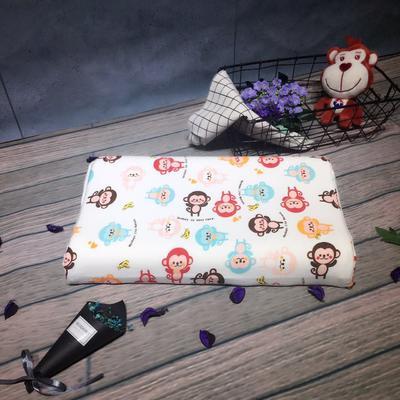 泰国儿童乳胶枕 猴子