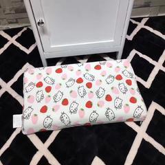 木果枕芯   卡通全棉儿童乳胶枕 爱心KT