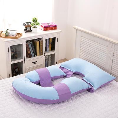 第三代多功能孕妇枕   颜色请备注 多功能孕妇枕  蓝加紫