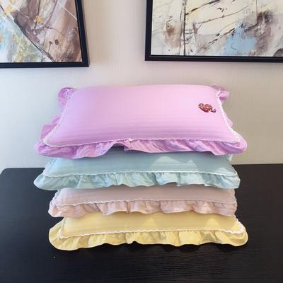 木果枕芯   新品蝴蝶花领结全荞麦枕 领结全荞麦枕   颜色备注