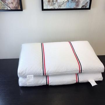彩边三方格全荞麦枕