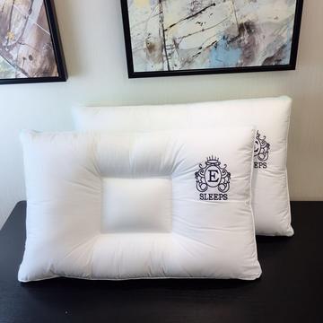 E字凹型水洗枕