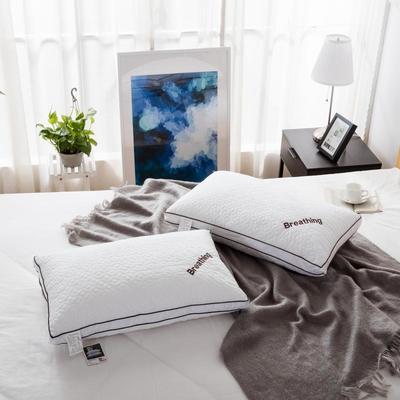 绗缝B字羽丝绒枕 绗缝B字羽丝绒枕