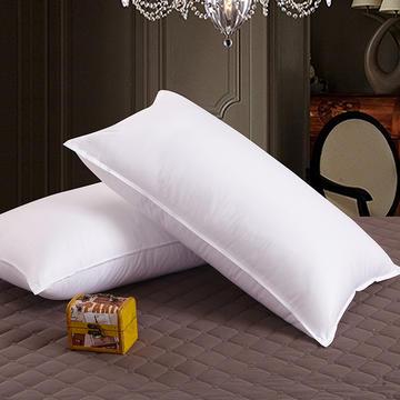 酒店双针羽丝绒枕