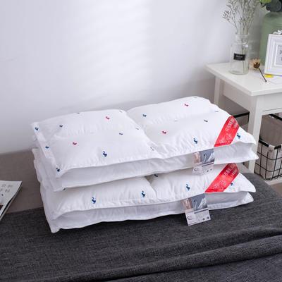红蓝鸭四方格水洗枕 红蓝鸭四方格水洗枕