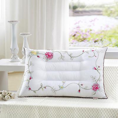 刺绣玫瑰花保健枕 刺绣玫瑰花保健枕