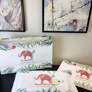 新皇家大象皇家乳胶枕