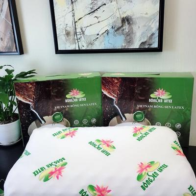 天然芽庄乳胶枕 纯天然莲花乳胶枕芯 莲花乳胶枕芯