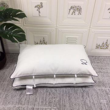 全棉云朵二合一水洗枕芯枕头