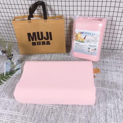 无印良品乳胶枕芯 枕头   粉色 无印良品乳胶枕芯 枕头   粉色