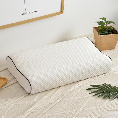 专用下单  泰国乳胶枕头 咖啡套带包装 琅琊款乳胶枕 加包装   一只装
