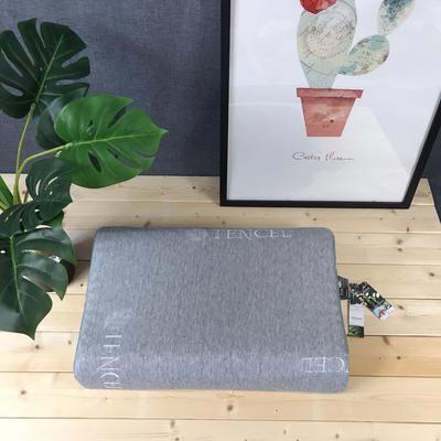 新品淘宝 京东 天猫专供款天然乳胶枕头泰国乳胶枕芯  按摩款 天然乳胶 灰色 按摩款