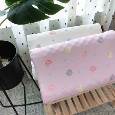 新品泰国天然儿童纱布乳胶枕头枕芯   开心岛猫咪 2745  开心岛猫咪