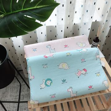 新品泰国天然儿童纱布乳胶枕头枕芯  开心森林