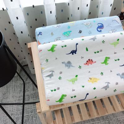 新品泰国天然儿童纱布乳胶枕头枕芯   恐龙乐园 2745  恐龙乐园
